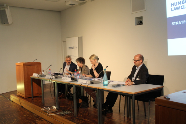 "Panel ""Enforcing Consumer Rights: Recent Developments in the US, the EU and Germany"""